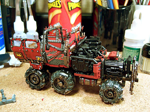 Ork Trukk Right Side