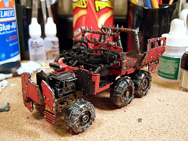 Ork Trukk Left