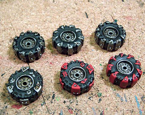 Ork Warbike Tires