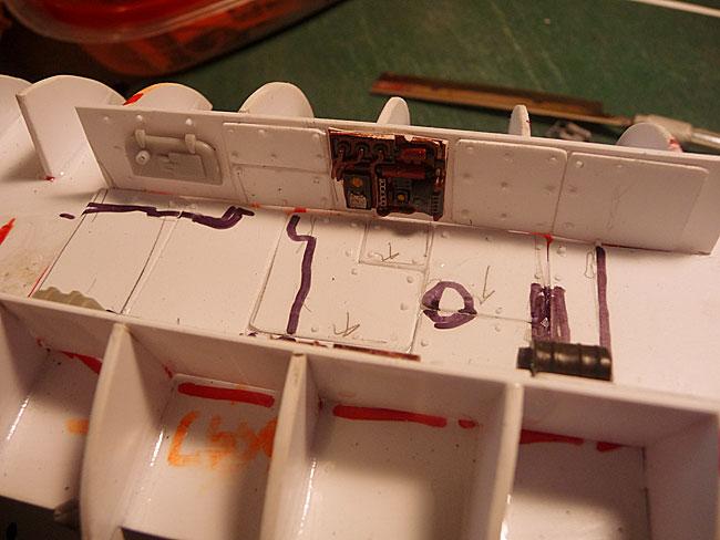 Ork Bommer Cockpit Detail