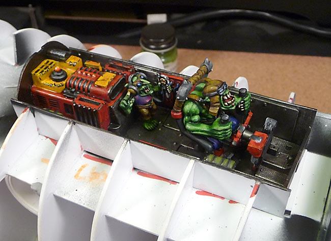 Blasta Bommer Cockpit