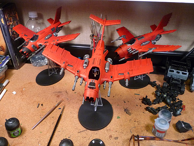 Dakka jets launch!