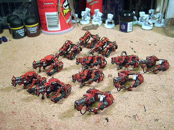 Lotoas Deff Guns - nearly done.
