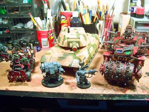 Skullhamma Toy Tank