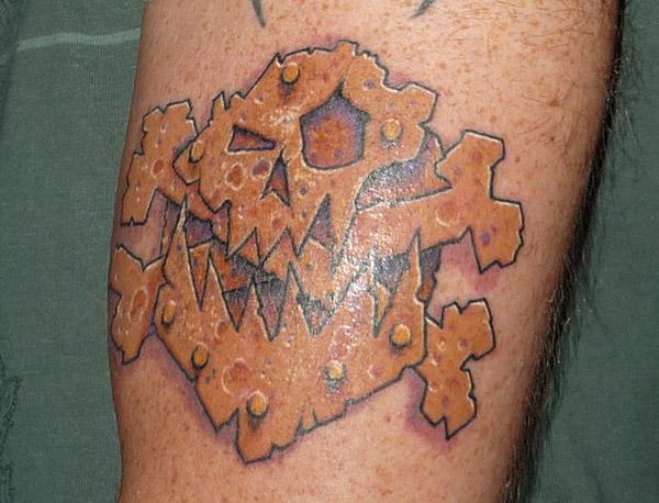 Ork Tattoo
