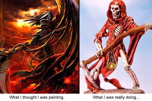 Grim Reaper Angel of Death