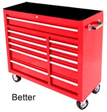 large red toolbox